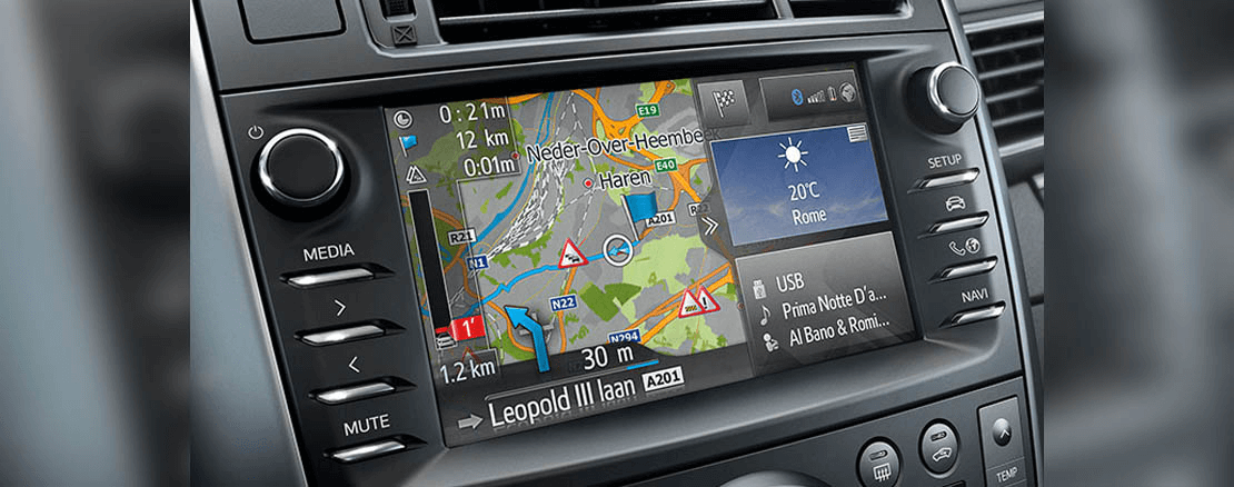 NAVIGATIONSSYSTEM Toyota Touch2&Go<sup>2</sup>